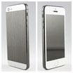 iPhone 5 Dark Aluminium / Weiss Carbon