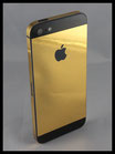 iPhone 5 Gold Chrome