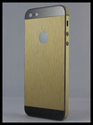 iPhone 5 Gold brushed