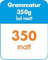 Visitenkarten abgerundet - 55x85 - 350g matt - 2s