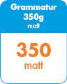 Visitenkarten abgerundet - 55x85 - 350g matt - 1s
