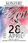 """Eintrittskarten zum Konzert """"Auf den Spuren der Zeit"""""""