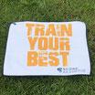 """Schlägertuch Players """"Train Your Best"""" Weiß/Orange"""