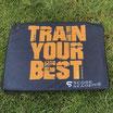 """Schlägertuch Players """"Train Your Best"""" Schwarz/Orange"""