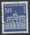 BERL 289 gestempelt