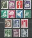 494-507  postfrisch  (BERL)