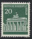 BERL  287 gestempelt