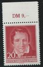 517 postfrisch mit Oberrand (DDR)