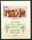 1521  mit Ersttagssonderstempel (BRD)
