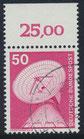 BRD 851 gestempelt mit Bogenrand oben (RWZ 25,00)