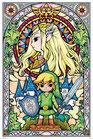 Zelda - Breath of the Wild Link gr Poster 61x91cm
