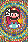 Super Mario Power Up Retro 8-Bit Poster 61x91cm