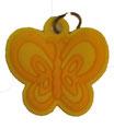 Charm Schmetterling Gelb/ Papillon jaune