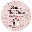 "Le Magnet ""Save The Date"" Liberty rose"