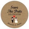 "Le Magnet ""Save The Date"" visuel Vintage"