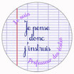 "Badge ""Je pense donc j'instruis"" [MP]"