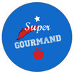 "[VP] Badge ""gourmand/e"""