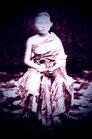 Young Thai girl sitting