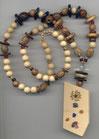 Halskette mit Zirbenholz1