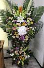 葬儀用生花スタンド2段もの