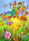 Die Gartenfreunde (Poster)