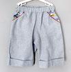 Shorts blau meliert