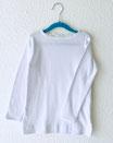 Pointelle Shirt weiß