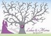 Hochzeitsbaum - Weddingtree Motiv 16