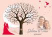 Hochzeitsbaum - Weddingtree Motiv 24