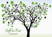 Hochzeitsbaum - Weddingtree Motiv 10