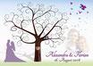 Hochzeitsbaum - Weddingtree Motiv 14