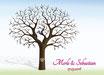 Hochzeitsbaum - Weddingtree Motiv 2