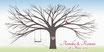 Hochzeitsbaum / Weddingtree Motiv 26