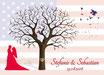 Hochzeitsbaum - Weddingtree Motiv 17