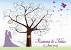 Hochzeitsbaum / Weddingtree Motiv 1