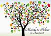 Hochzeitsbaum - Weddingtree Motiv 10.2