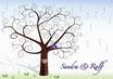 Hochzeitsbaum - Weddingtree Motiv 3