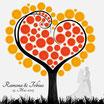 Hochzeitsbaum - Weddingtree Motiv 40