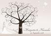 Hochzeitsbaum - Weddingtree Motiv 47 sepia