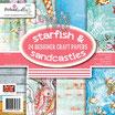 Blocco Starfish & Sandcastles 15x15 24 Fogli Cod. PD7953