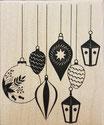 Timbri in Legno Artemio Sfere Natale cod. ARTHF1084