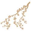 Stencil Decò Floral 031 Rama Almendro