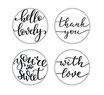 Timbro Clear Stamp Sentiments MSTC1-020