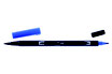 Pennarello Dual Brush Tombow col. 535 Cobalt Blue