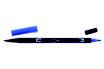 Pennarello Dual Brush Tombow col. 535 Cobalt Blue