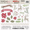 Stickers Modascrap Merry And Bright MSSK 1-012