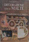 Libro Decorazione con Le Malte