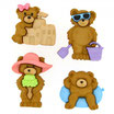 Bottoncini Summer Bears