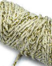 Nastro Cotton Lurex Twist Beige