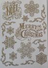 Rub-on Merry Christmas  DFTD13